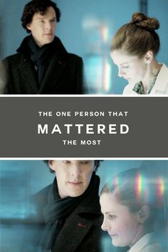 """SHERLOCK (BBC) ~ """"The one person that mattered the most,"""" Sherlock Holmes (Benedict Cumberbatch) says to Molly Hooper (Louise Brealey) in Season 3, Episode 1."""