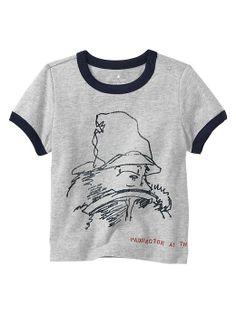 Paddington Bear™ for babyGap graphic ringer tee | Gap