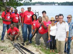 Cultural Vistas African Civil Society and Youth Leadership IVLP group in Pensacola