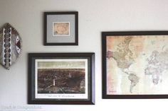Maps Gallery Wall |