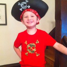 Still jack's favorite tee ( 4th birthday tee 2011...jake and the neverland pirates party)