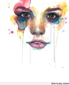 Watercolor art by Marion Bolognesi