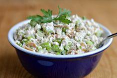 Yom Kippur Break-fast recipes: smoked whitefish salad  #YomKippur #HighHolidays
