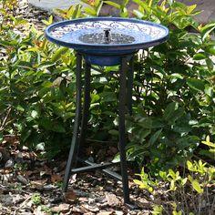 Smart Solar 20747R01 Solar Powered Birdbath by Smart Solar List Price $237.39 Price $193.00 + Free Shipping You Save $44.39