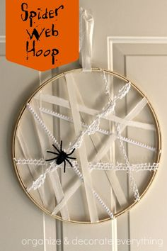 Spider Web Hoop - Organize and Decorate Everything