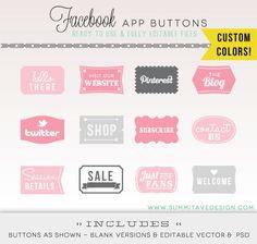 FB timeline app buttons