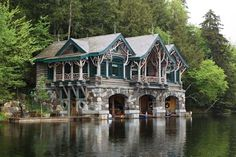 ...and a beautiful boathouse for my back yard...