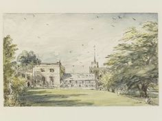 Pitt Place, Epsom, the house of Mr. Digby Neave, John Constable, 1831