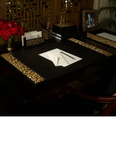 animal print decor on pinterest zebra print walls desk accessories : fans dining rooms