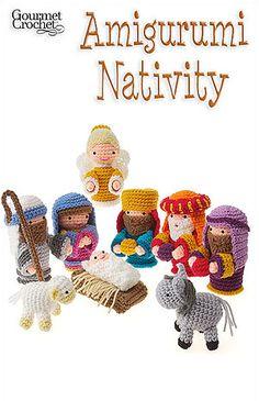 gehaakte kerstfiguren