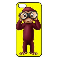Curious George Iphone 4 case iphone 4s cover