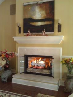 Living Room Fireplace On Pinterest Gas Fireplaces Traditional Family Rooms And Traditional