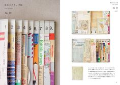 travel journal layouts - love these