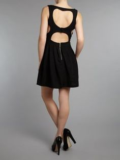 dress black, black house, skater dresses