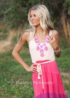 Modern Vintage Boutique - Hot Pink JCREW Inspired Bubble Necklace , $26.00 (http://www.modernvintageboutique.com/hot-pink-jcrew-inspired-bubble-necklace.html)