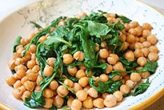 Marinated Chickpea & Arugula Salad (Insalata Di Ceci E Ruchetta)