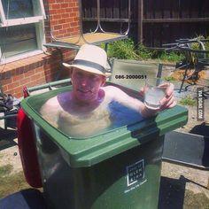 Summer in Ireland Taking a dip!