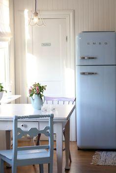 charm, pastel, refrigerators, color, robin egg blue