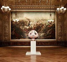 Takashi Murakami at Versailles.