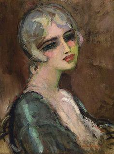 Kees van Dongen, Portrait de femme