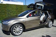 Tesla X electric seven seat SUV