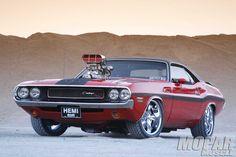 Blown 1970 Dodge Challenger R/T