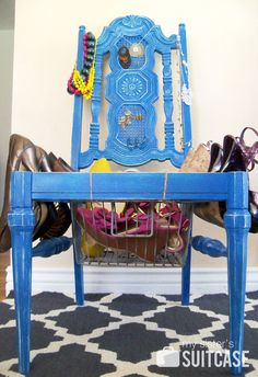 DIY Accessory Chair {by My Sister's Suitcase}