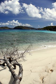 my favorite beach on St. John, USVI - Denis Bay