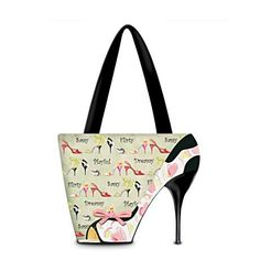 I bought this purse for my sister last Christmas. It's a rare day when she doesn't wear high heels.