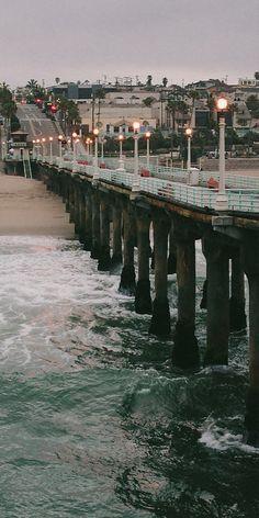 Misty Morning, Manhattan Beach, California | andytomasello