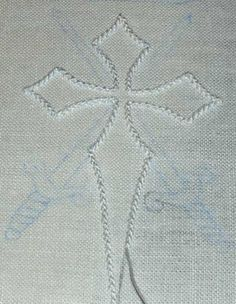 hand sew, thread work