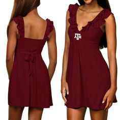 my Aggie game day dress! :]