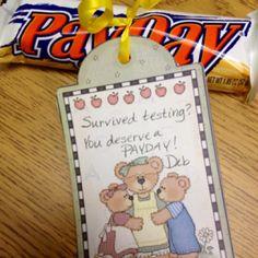 test treat, testing treats for teachers