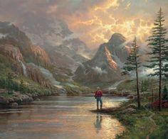 Almost Heaven ~ Thomas Kinkade