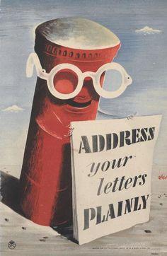 Graphis zero letterbox 1950