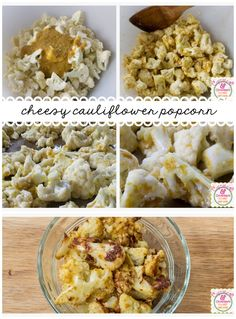 Looking for a healthy alternative to movie popcorn?  Check out this Cheesy Cauliflower Popcorn!