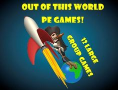 Out of this World PE Games!
