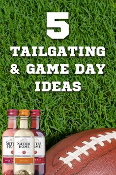 Tailgating & Game Day Ideas - Happy Football Season!