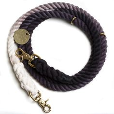 Hand Dyed Black Ombre Leash by Found My Animal. Just purchased this for my little Miles. He and I are both ombre lovers. We can wait to look stylish as we walk through San Francisco.