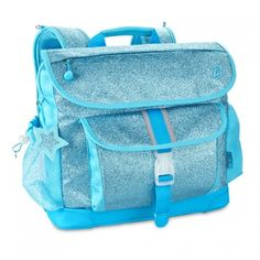 This sparkly turquoise comfort fit backpack by Bixbee is sure to make back-to-school season a blast!  Built to be lightweight, comfortable and durable, our backpacks are perfect for keeping unnecessary weight off kids' backs.  Contoured air-mesh adjustabl