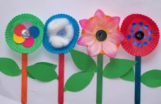 PICASA EN EDUCACIÓN - Google+ - Pretty flowers - kids craft