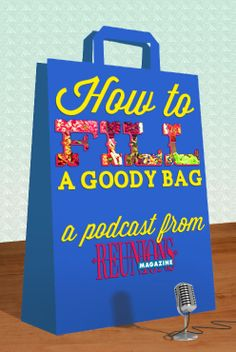 Planning a reunion? Listen to these insightful reunion planning tips and advice from Edith Wagner, editor of Reunions magazine. How to fill a reunion goody bag: Memories are great to take home from your family reunion but a little loot is even better. A reunion is just not a party without a goody bag.
