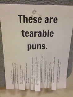 tearable puns
