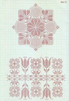 vintage swedish cross stitch pattern