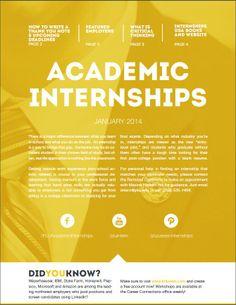 note 101, month featur, januari newslett, internship usa