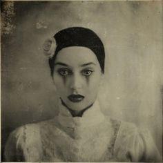 WONKA vintage circus photos, amaz imag, amaz art, french beauty, rimel neffati, beautiful clowns, portrait, night circus, photographi