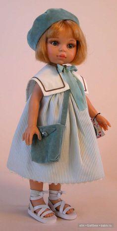 Одежда для фарфоровой куклы
