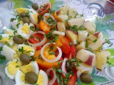 Summer Tomato, Egg and Potato Salad Tia maria's Blog...