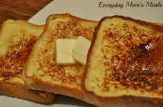 """Copycat Cracker Barrel French Toast -  """"Absolutely scrumptious, this easy breakfast also makes a delicious simple supper!""""  everydaymomsmeals.blogspot.com"""