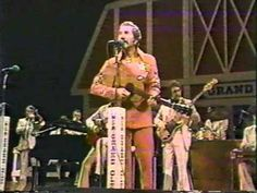 Marty Robbins on the Grand Ole Opry